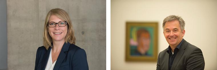 Annick Haldemann e Thorsten Sadowsky. Courtesy Kirchner Museum Davos. Foto: Frank Kleinbach