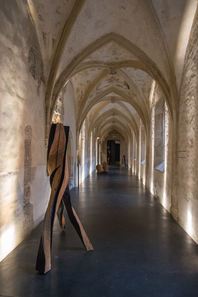 Exhibition WOOD,artist  Johann Feilacher. Dominican Monastery. Archivio Art Stays 2017