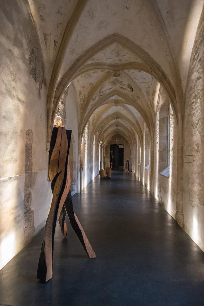 Exhibition WOOD,artist  Johann Feilacher. Dominican Monastery. Archivio Art Stays 2017