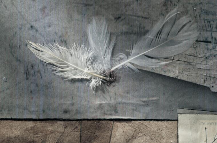 Un'opera di Marco Jaccond. Foto: Venturini