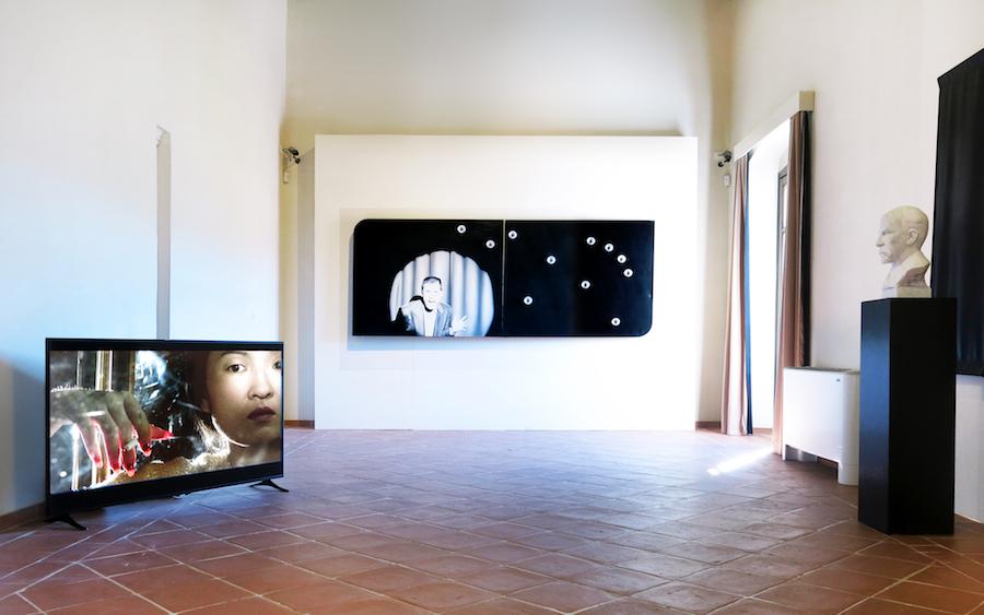 Le immagini Reinventate, Thorsten Kirchhoff e Sam Durant. Foto: Mauricio Lupini