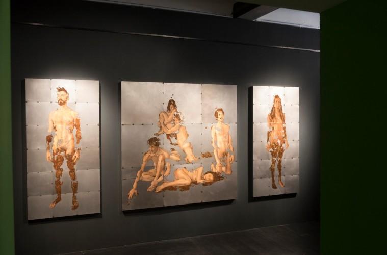 Sabatino Cersosimo,  veduta della mostra, Conversation Piece, courtesy Accesso Galleria, Pietrasanta