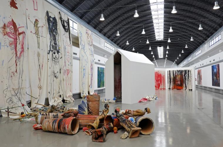 Exhibition view, Thomas Lange a Palermo, ZAC, Courtesy Atelier Thomas Lange, photo Enzo Alessandra