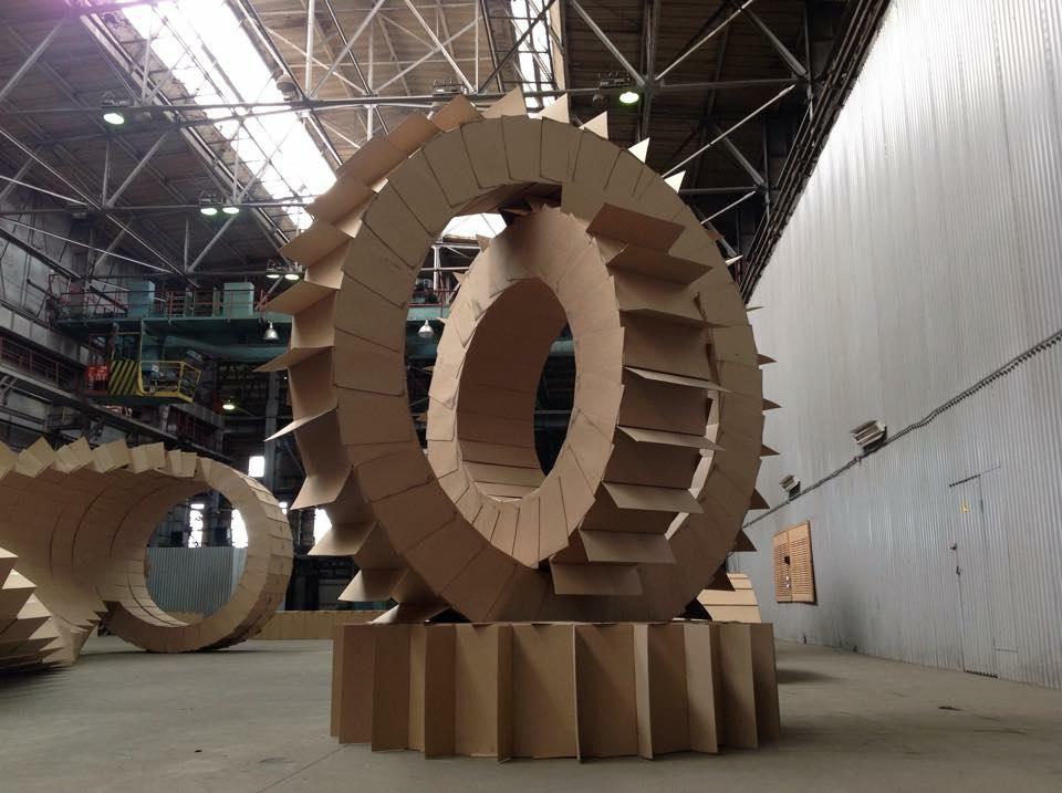 Michele Giangrande, Gears, Ura, IndustrialBiennial