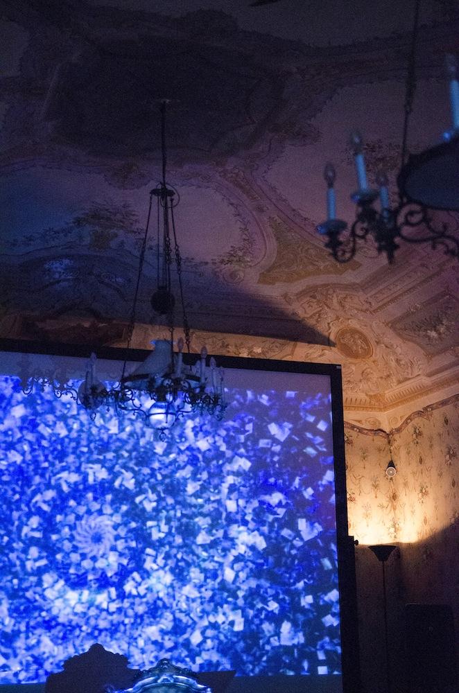 LINO STRANGIS, RIVELAZIONE ANTROPOEccentrica, Pomarance, a cura di Maurizio Marco Tozzi. Foto di Marta Marinotti. Courtesy Kappabit Srl.