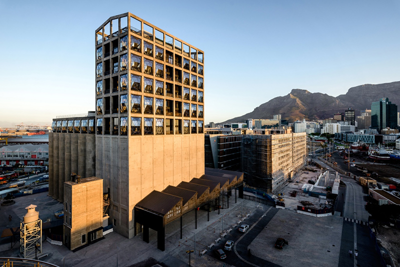 The Grain Silo Complex which includes Zeitz MOCAA. Credit The Royal Portfolio