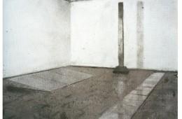 Vik Muniz, Picture of dust, 2000-stampa-al-bagno-di-sbianca-112-x-263-cm-collezione-privata-roma. Foto: Studio Boys Roma
