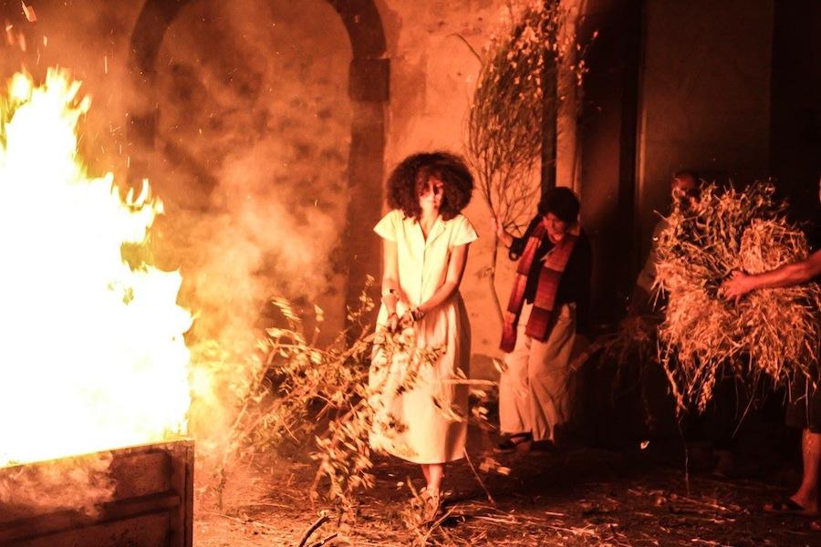 Moeva, Laura Cionci, performance. Foto di Alessandro Zangirolami. Courtesy l'artista