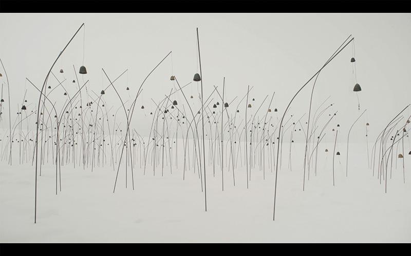 Christian Boltanski, Animitas (blanc), 2017, video con sonoro, 16/9, HD. © C. Boltanski
