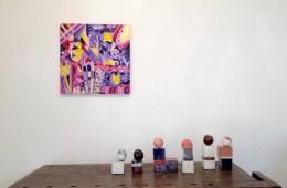 Contrappunto. Caterina Mancuso e Daniela Rossi, veduta dell'allestimento, Gli eroici furori arte contemporanea, Milano