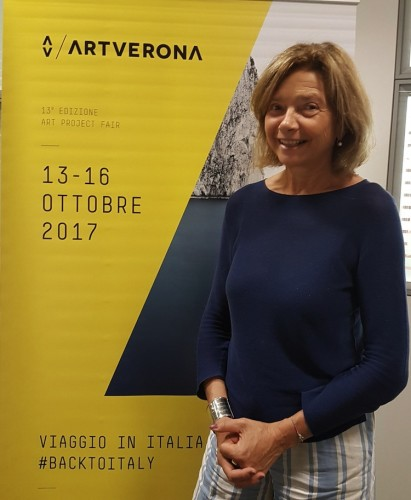 Adriana Polveroni, direttrice artistica ArtVerona