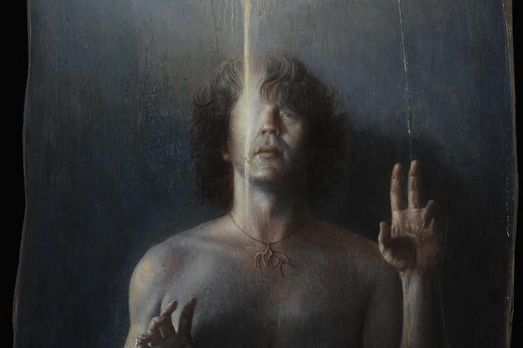 Agostino Arrivabene, Autoritratto Pantocrator