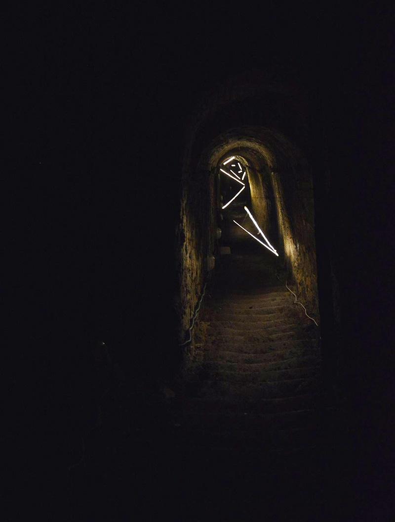 David Scognamiglio, Incertum, Corpus Mine. Foto Fabrizio Scotti
