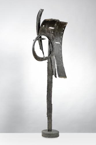 Dino Basaldella, Fandango, 1960, ferro forgiato e saldato, 146x44.5x30.5 cm