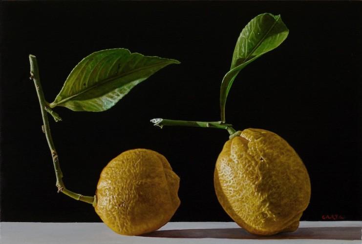 Giuseppe Carta, Germinazioni, 2015-2016, olio su tela, 20x30 cm