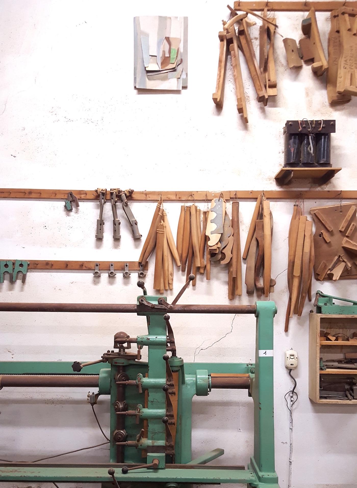 """""""L'inizio di una sedia"""", Beatrice Meoni, veduta installazione, Museo della Sedia Leggera, Chiavari"""
