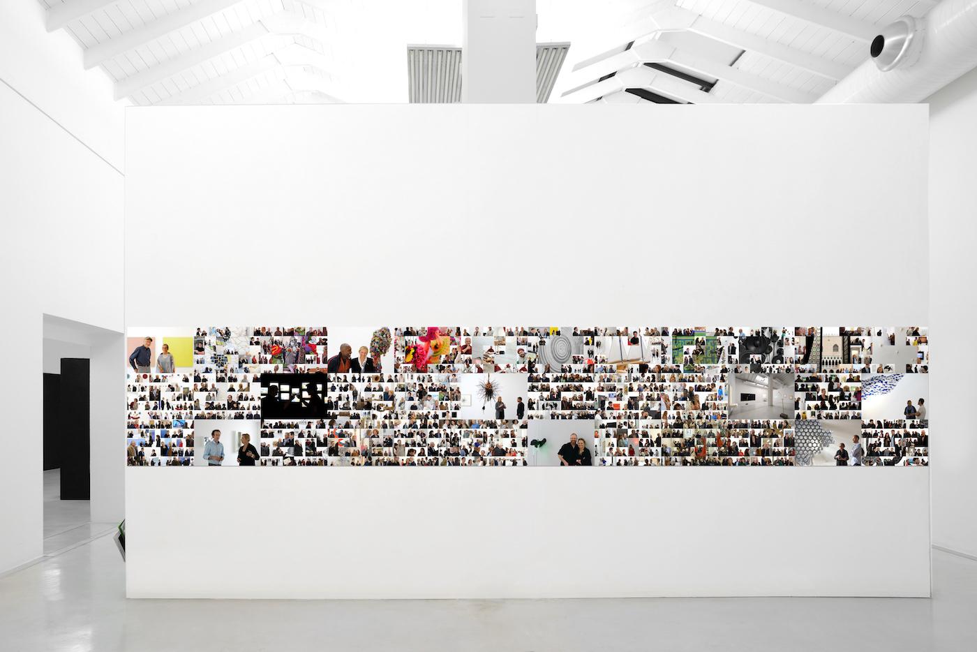 Dieci anni in Galtarossa Misura del tempo – Michele Alberto Sereni 2017 installation view. Foto: Michele Alberto Sereni