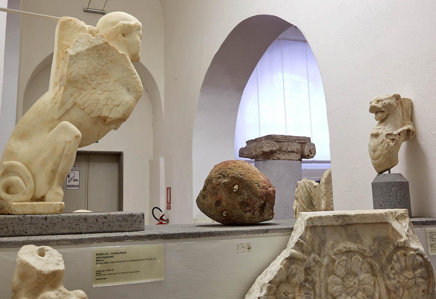 Museo Archeologico e d'Arte della Maremma, SALA 11b, Massimiliano Pelletti. Forever Never Comes. Foto: Carlo Bonazza