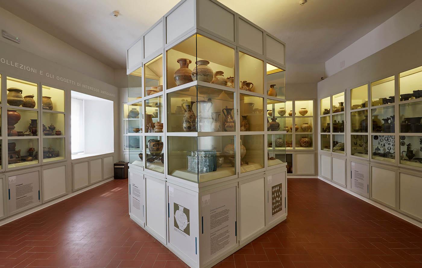 Museo Archeologico e d'Arte della Maremma, SALA 23, Michael Johansson, Forever Never Comes. Foto: Carlo Bonazza