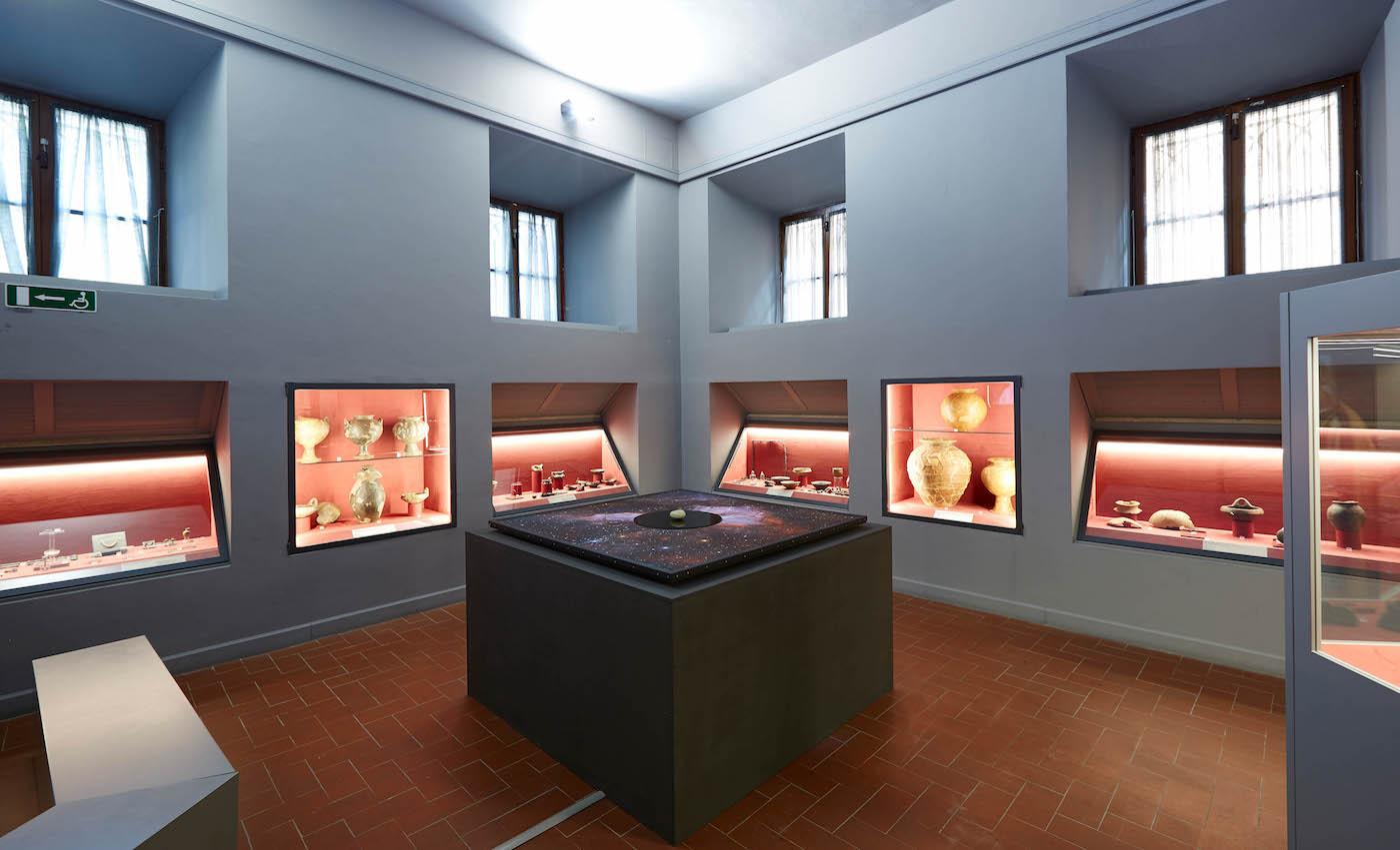 Museo Archeologico e d'Arte della Maremma, SALA 2, Luca Pozzi Forever Never Comes. Foto: Carlo Bonazza