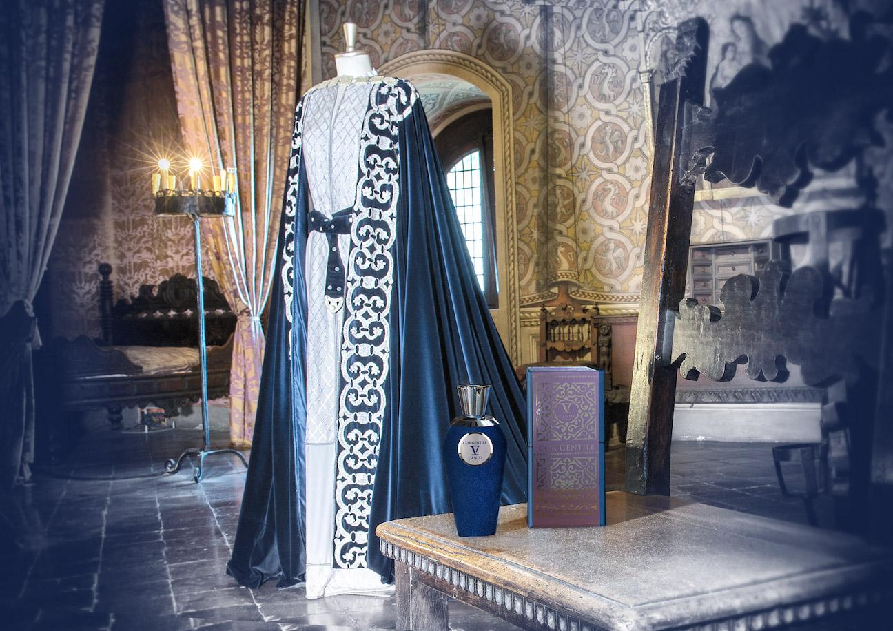 V Canto, abito di Francesca, Castello di Gradara