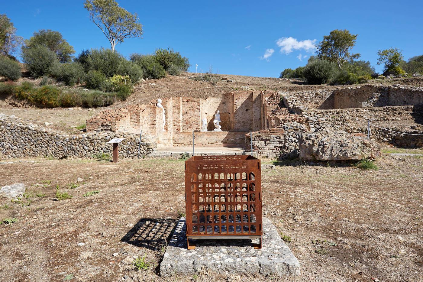 Area Archeologica di Roselle (GR), ZONA 13. Philip Topolovac. Forever Never Comes. Foto: Carlo Bonazza