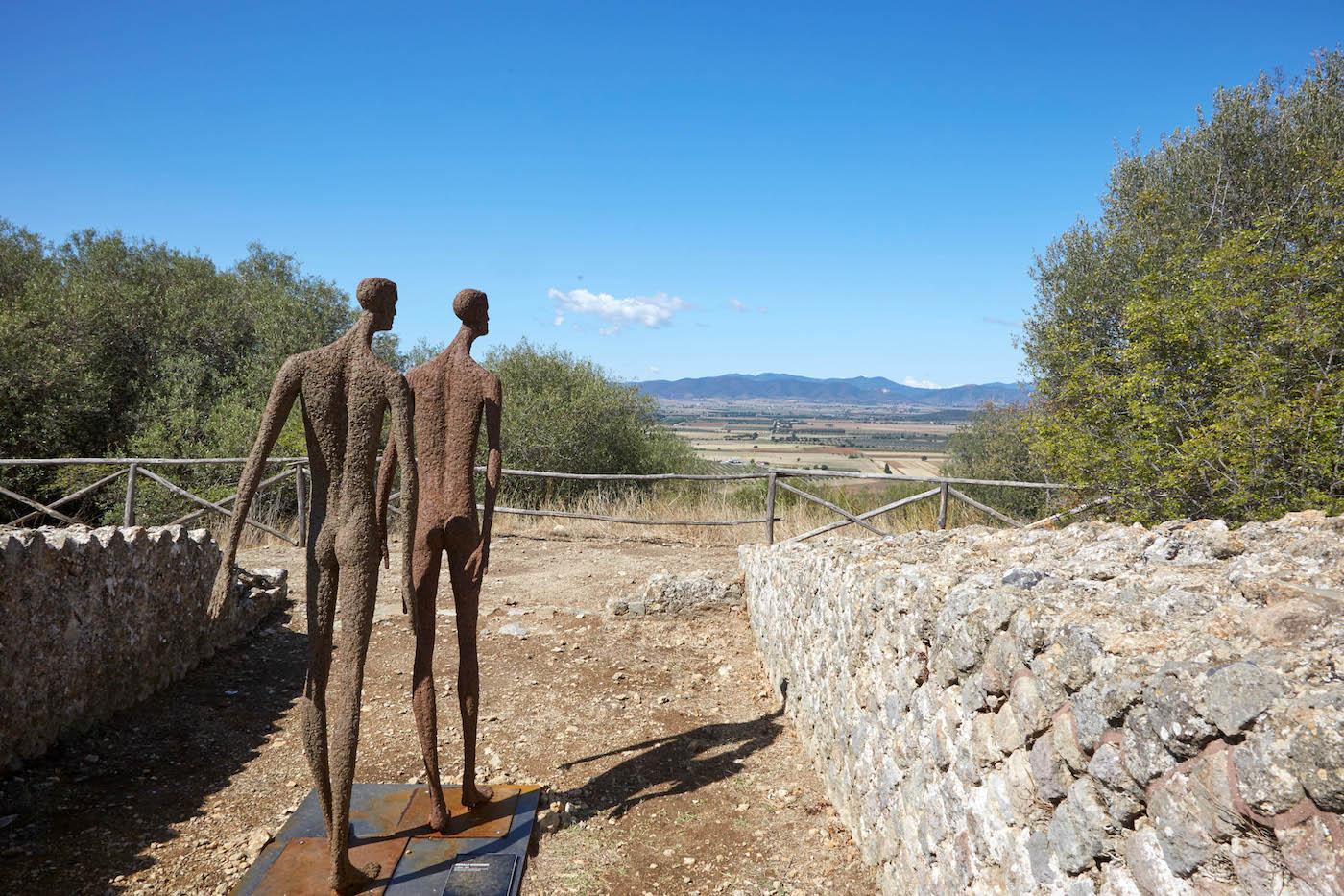 Area Archeologica di Roselle (GR), ZONA 16. Gerard Moroder Forever Never Comes. Foto: Carlo Bonazza