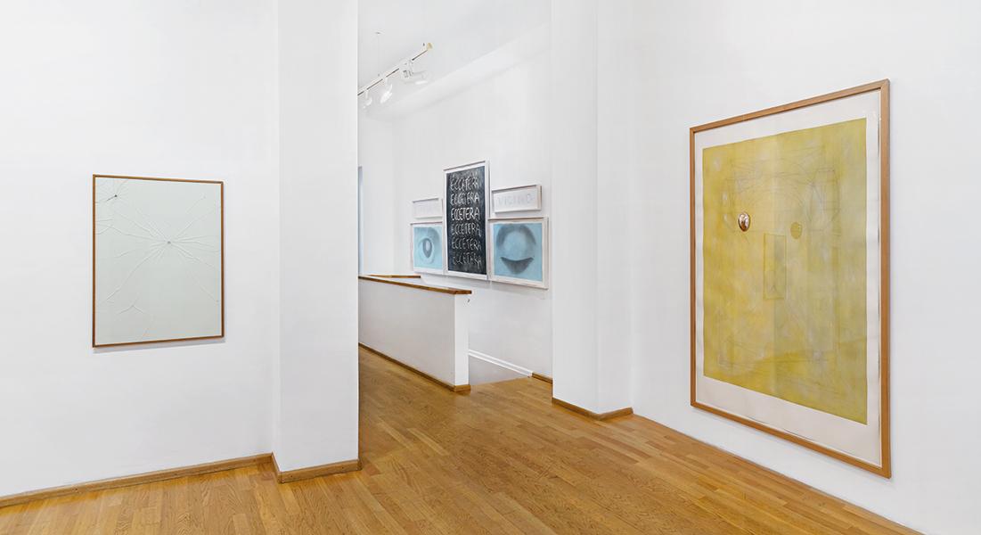 José Barrias. Collezionista di echi, veduta della mostra, Nuova Galleria Morone, Milano