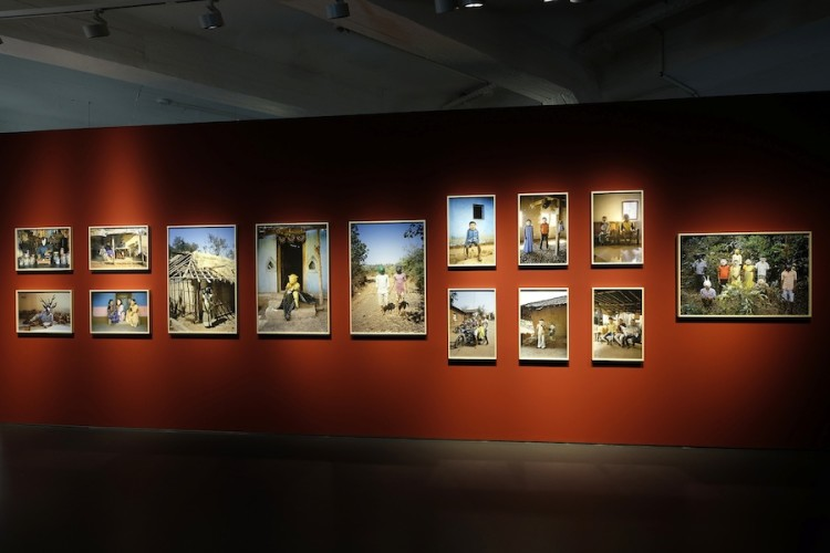 Gauri Gill, Acts of Appearance, 2015–, installation view, Hessisches Landesmuseum, Kassel, documenta 14 Photo Michael Nast