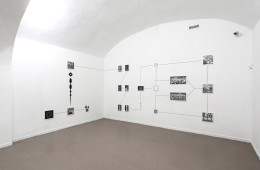 Silently close are some particles, 2017 Installation view, room 3 z2o Sara Zanin Gallery, Roma