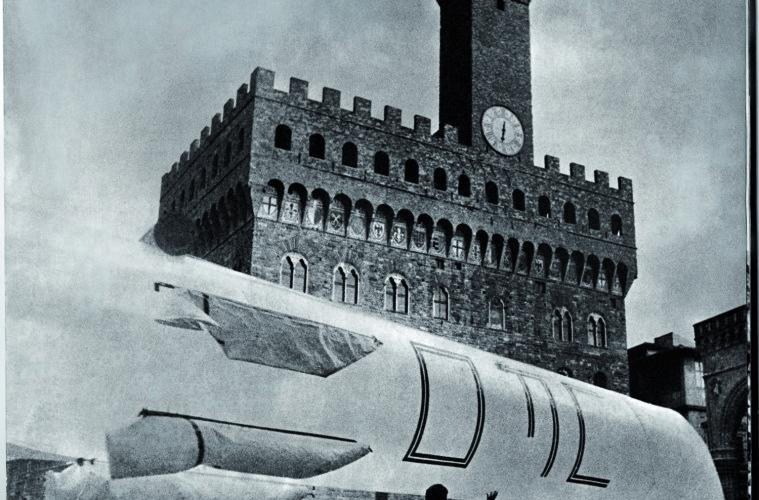 UFO, Urboeffimero 3 - Piazza della Signoria, 1968. Firenze, Archivio UFO di Lapo Binazzi