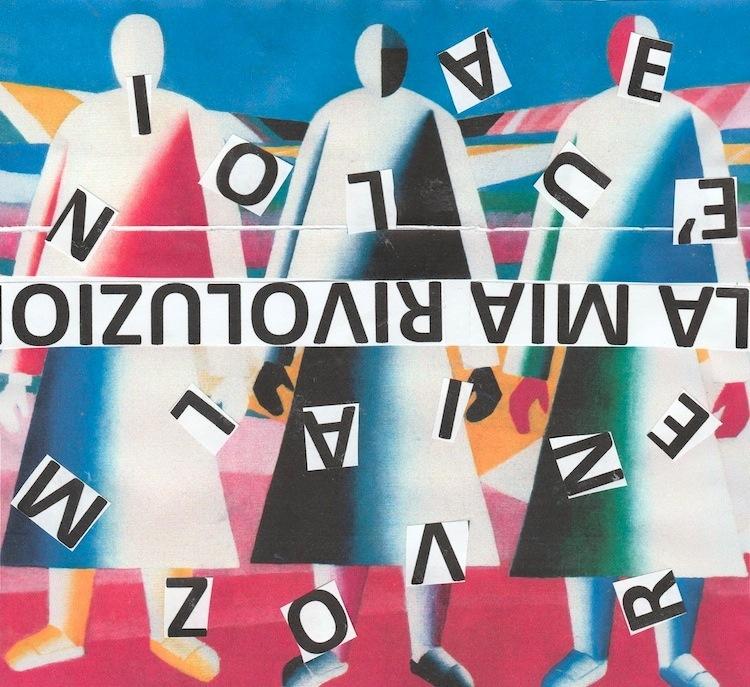 "Nanni Balestrini, Kazimir Malevič, Ragazze nel campo, 1928-29, ""La mia rivoluzione"" Majakovskij"