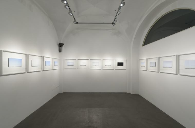 Luca Lupi. Finis Terrae. Veduta dell'istallazione, Passaggi Arte Contemporanea, Pisa