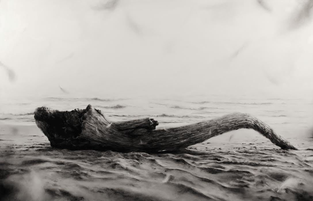 Ettore Frani, Il dono, 2017, olio su tavola laccata, 70x110 cm Foto di Paola Feraiorni