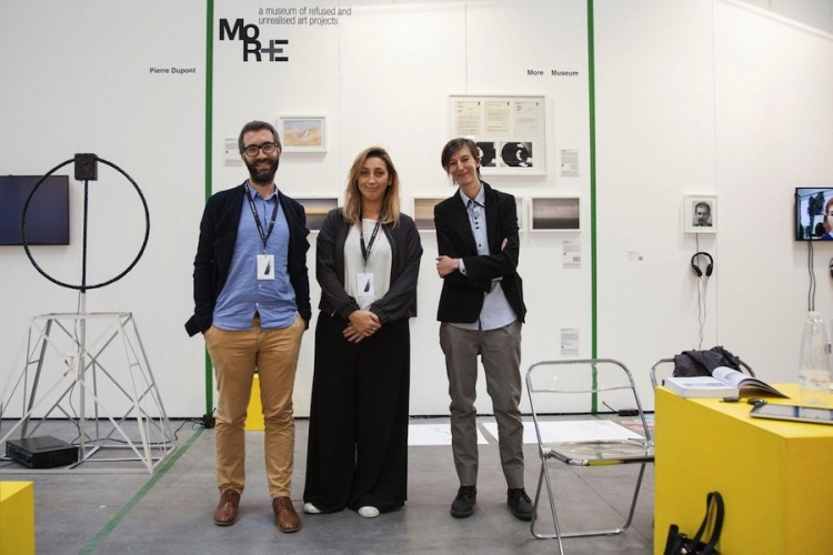 MORE - a museum of refused and unrealized project, vincitore Premio i8-spazi indipendenti