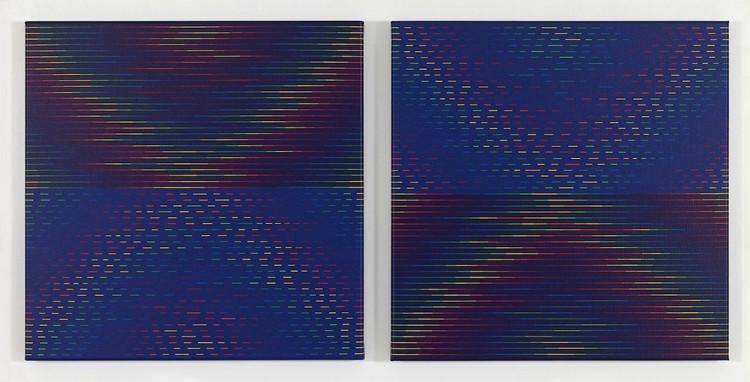 Paolo Minoli, Specchio Magico, 2003, 60x120 cm, Courtesy Bonioni Arte, Reggio Emilia