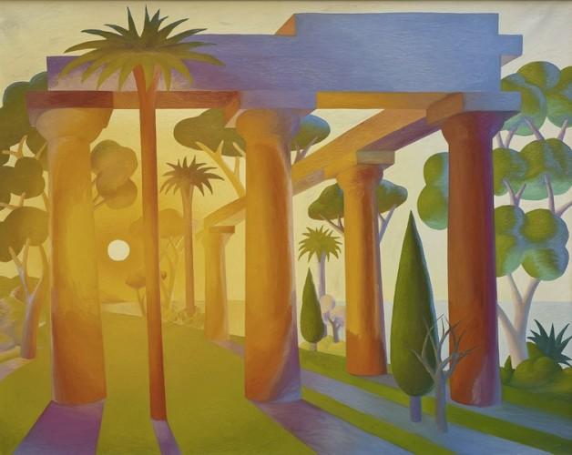 Salvo, Alba, 1989, olio su tela, 200x250 cm Courtesy Dep Art, Milano