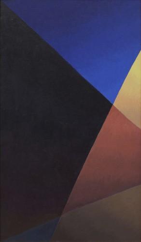 Salvo, Notte strada lampione, 1986, olio su tela, 120x70 cm Courtesy Dep Art, Milano