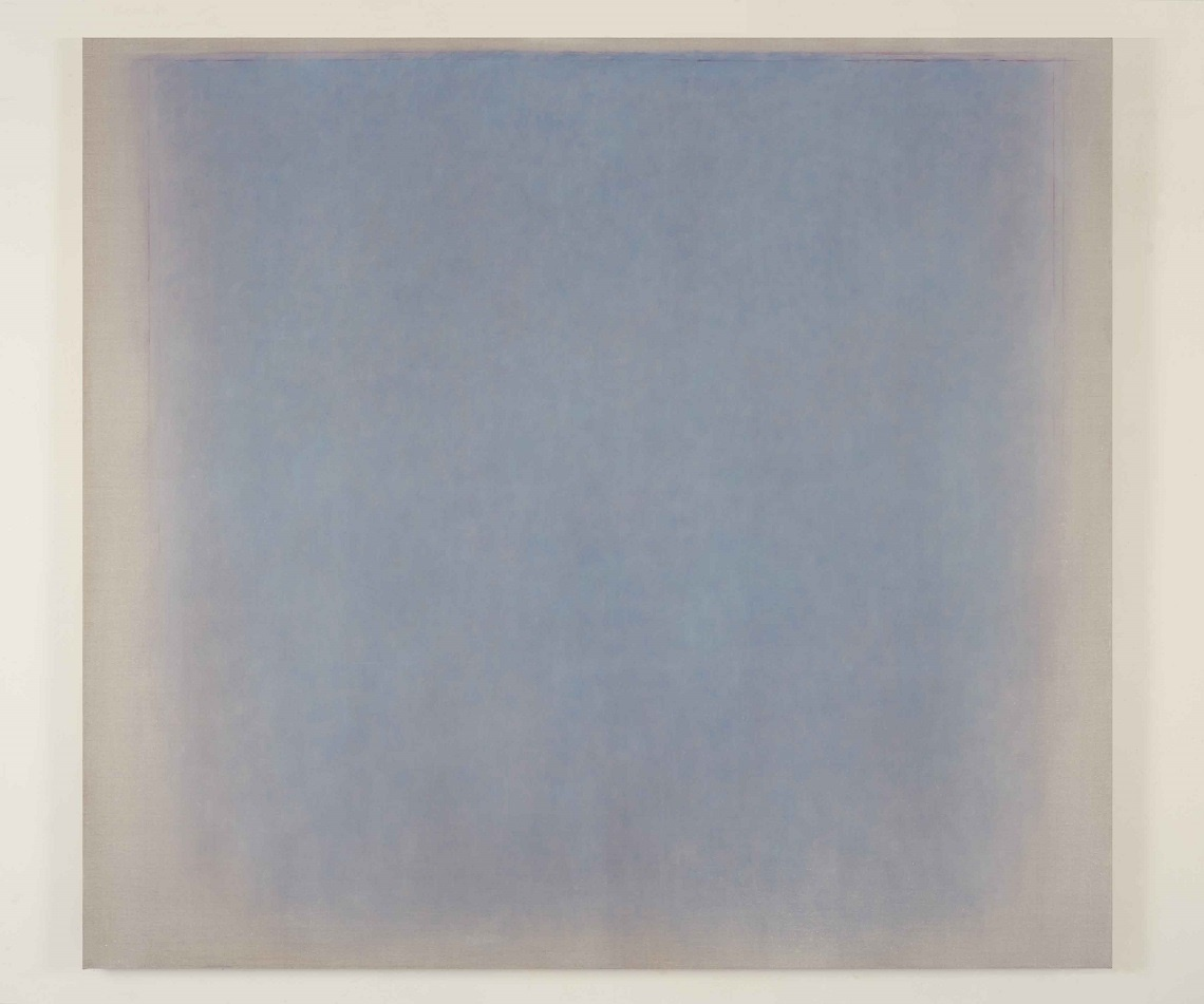 Sandro De Alexandris, Soglia XLIV, 2017, olio e pastelli su tela, 180x163 cm