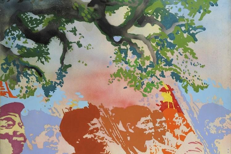Giacomo Spadari, Vietkong, 1970, acrilico su tela, 120x120 cm Foto Fabrizio Stipari