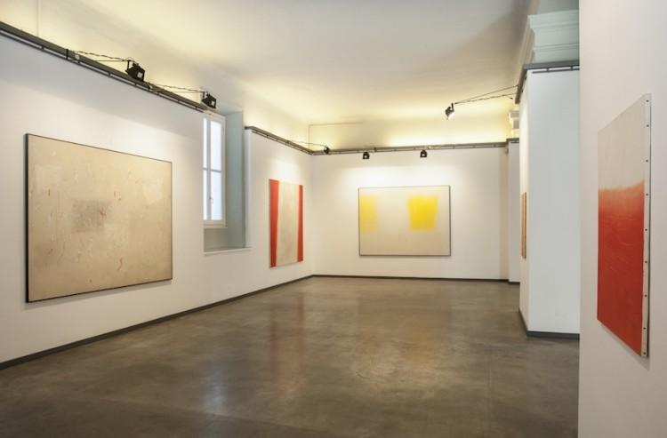 Valentino Vago.Oltre l'orizzonte, veduta della mostra, Annunciata Galleria d'Arte, Milano