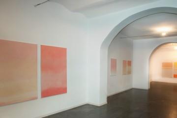 Valentino Vago.Oltre l'orizzonte, veduta della mostra, Galleria il Milione, Milano