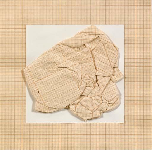 """""""Senza titolo"""", 1973 Collage su carta 33,7 x 33,7 cm Collezione privata © Giulio Paolini Foto courtesy Fondazione Giulio e Anna Paolini, Torino"""