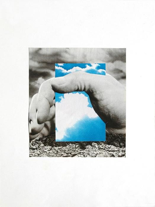 """""""Senza titolo"""", 1976 Collage su carta 32,7 x 24,6 cm Collezione privata, Ascoli Piceno © Giulio Paolini Foto courtesy Fondazione Giulio e Anna Paolini, Torino"""