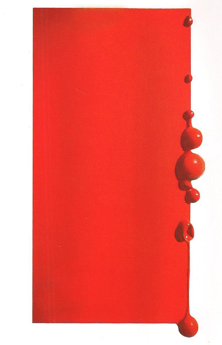 Beatrice Gallori, output, 2015, tecnica mista su tela, cm 120x70 - courtesy Lara & Rino Costa Arte Contemporanea Valenza (AL)