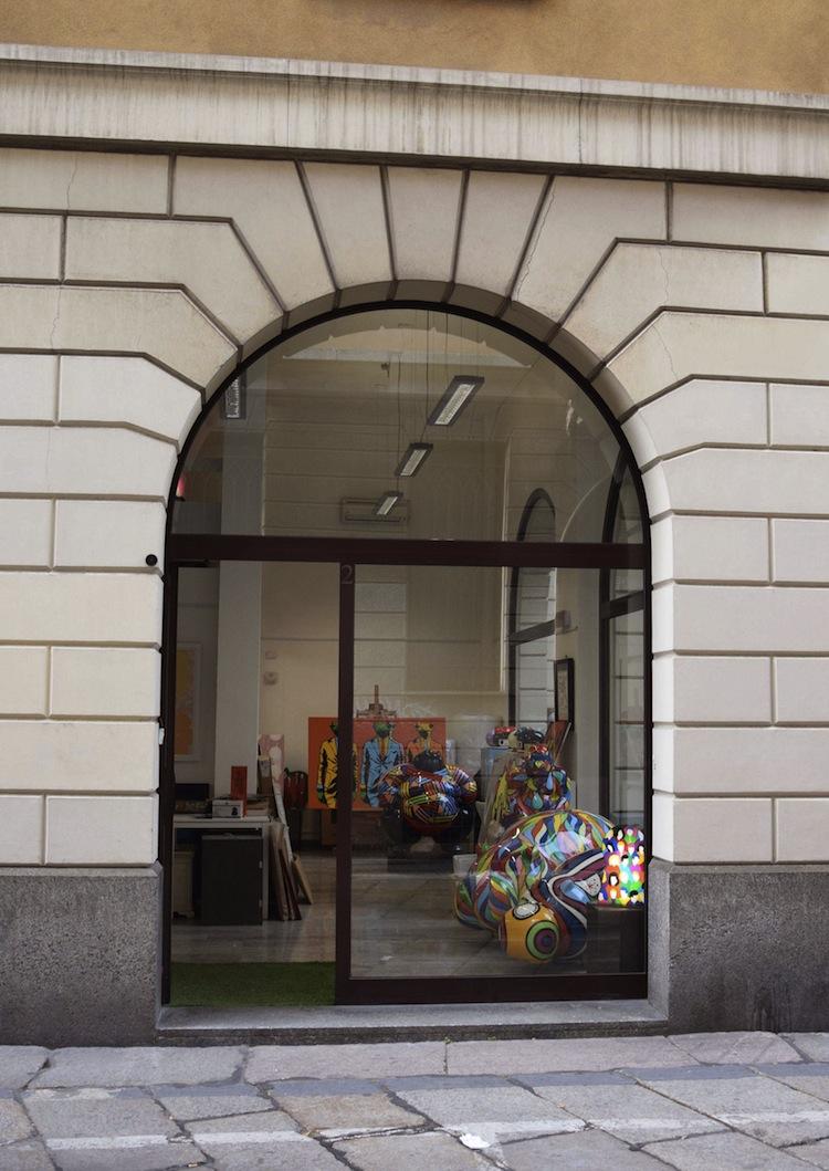 La nuova sede di via Nerino 2, Deodato Arte, Milano