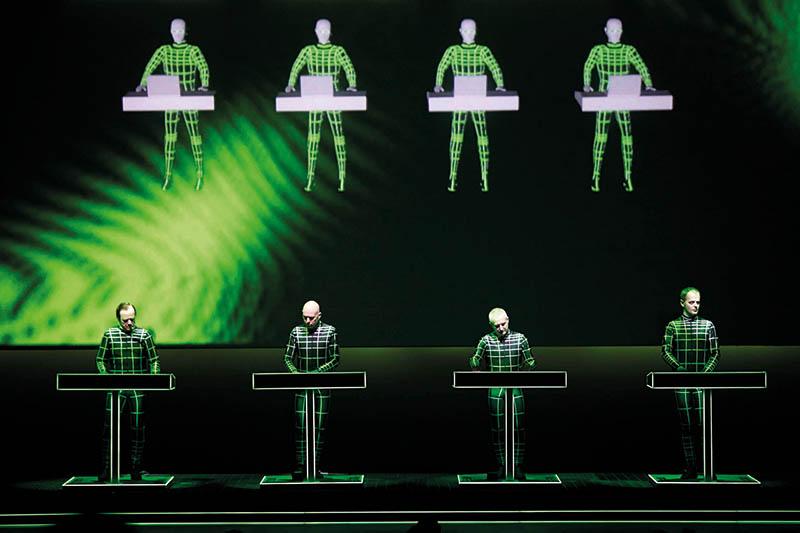 Kraftwerk. Foto: © Peter Boettcher