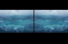 Millennial Tears, 2017 video-installazione Full HD a 2 canali, colore, audio, durata 40', dimensione complessiva 160x540 cm (frame da video-proiezione).