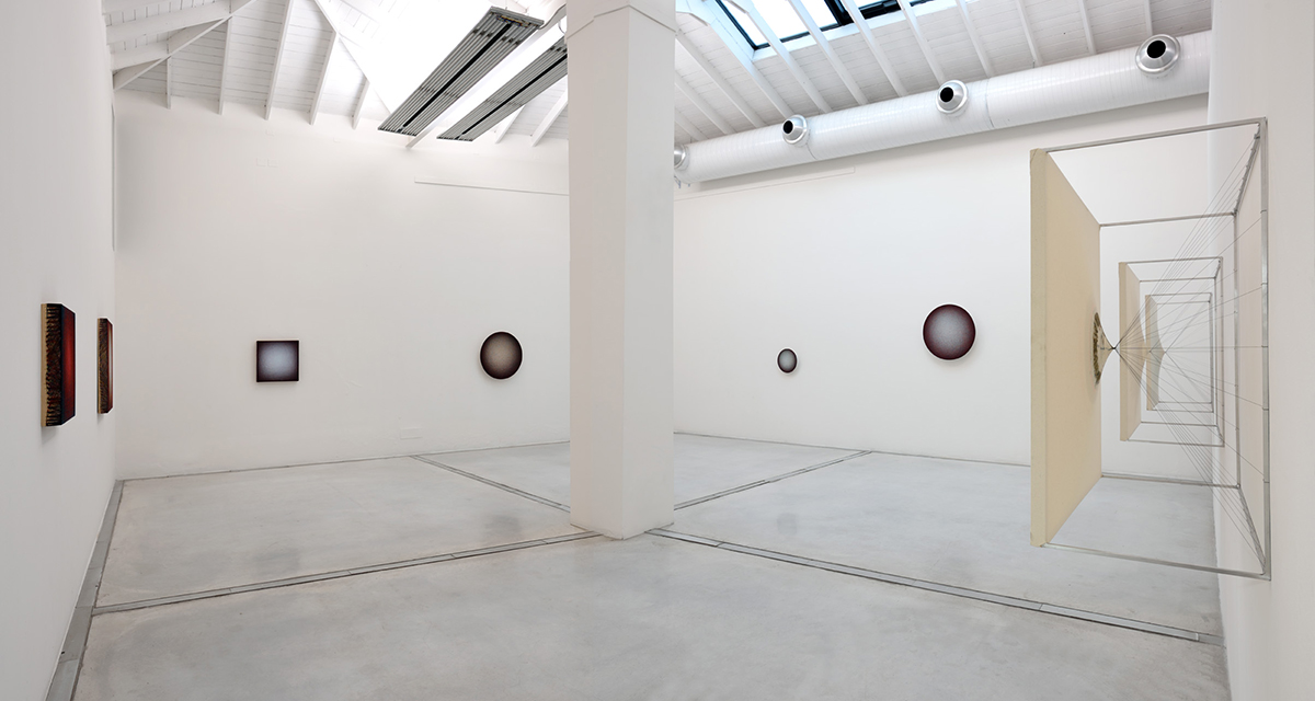 Emil Lukas, 2017, installation view. Foto Michele Alberto Sereni. Courtesy Studio la Città - Verona