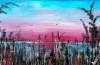 ruggero-innocente-alghe-sulla-laguna-smalti-su-tavola-93x63-cm-2017